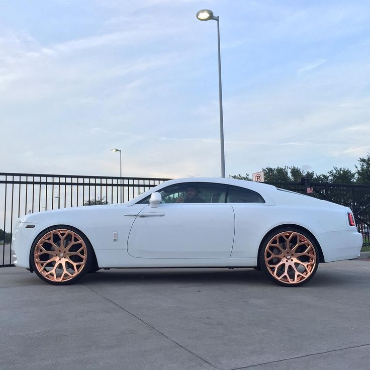 ROSIE MONACITA — goals rose gold rims on rr
