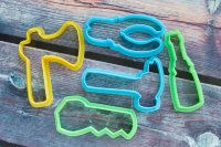 "Cookie cutters set ""Tools"" 5 pcs"