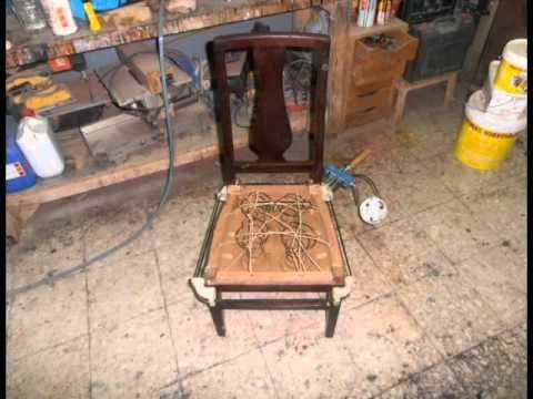 Como arreglar una silla que se mueve paso a paso