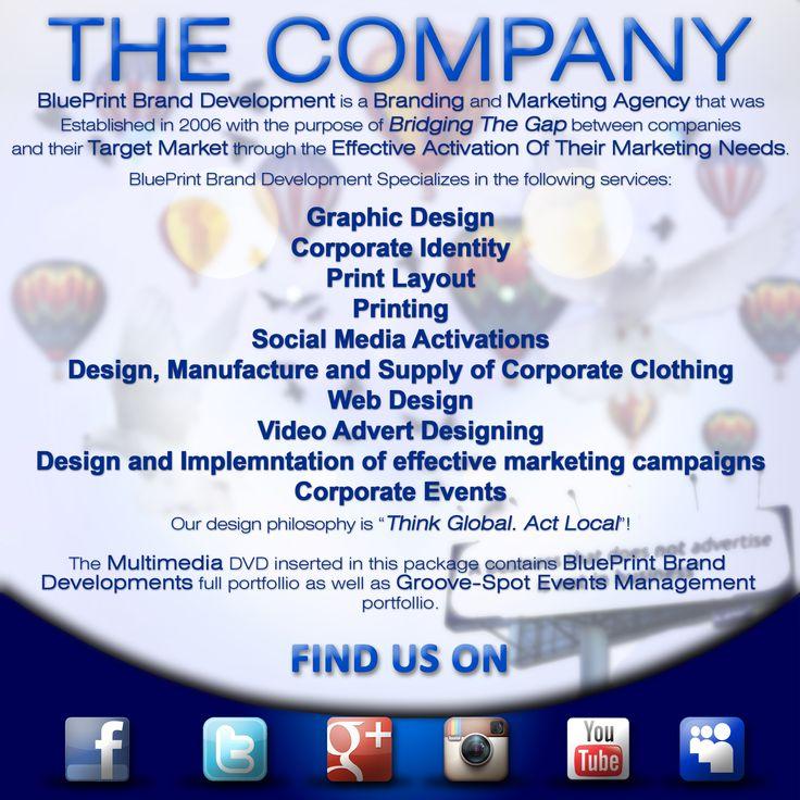 The 16 best graphic design portfolio images on pinterest blueprint brand development company profile malvernweather Images