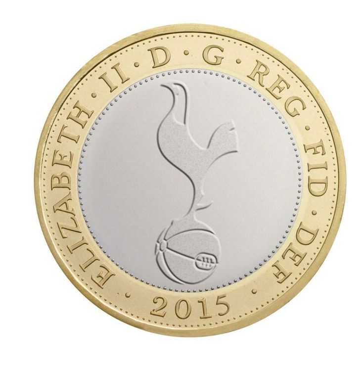 Tottenham, Spurs, Tottenham Hotspur, #COYS, Money, Royal Mint.
