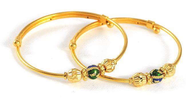 Pin 22kt Gold Baby Bangles Baby Bangles on Pinterest | Baby bangles, Gold  baby bangles, Kids gold jewelry