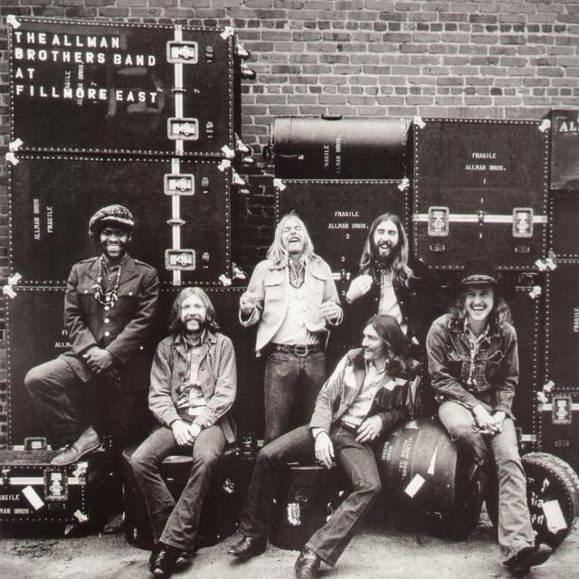 The Allman Brothers Band Live At Fillmore East Vinyl Record Allman Brothers Fillmore East Blues Rock