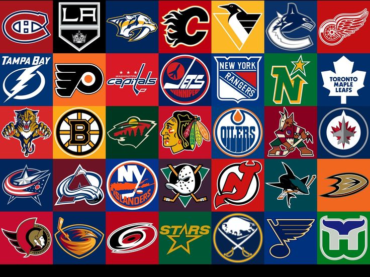 79 Best Nhl Logos Images On Pinterest Hockey Logos Nhl Logos And