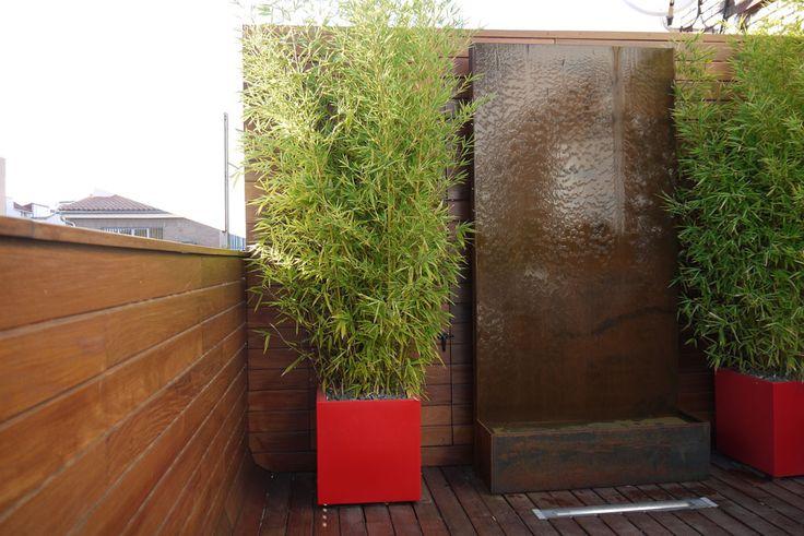 17 best images about pia gardens roof top on pinterest - Jardineras acero corten ...