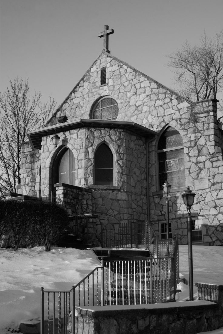 Sacred Heart Catholic Church on Grosse Ile. The original still standing on the corner of Church rd. overlooking the river.