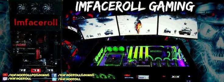 Imfaceroll gaming banner youtube facebook  www.youtube.com/imfacerollpcgaming