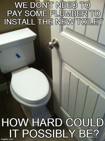 This certainly wouldn't have happened if you called Allstar Plumbing!