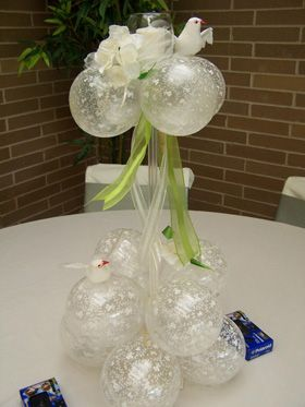 Diamond And Pearls Theme Party Balloon Centerpiece Google Search Decorations Pinterest