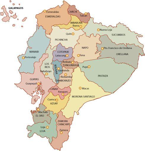 Ecuador, getting your bearings www.becominganexpat.com