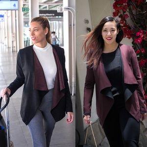 Women's 4-Way Stretch, Antimicrobial, Reversible Travel Blazer