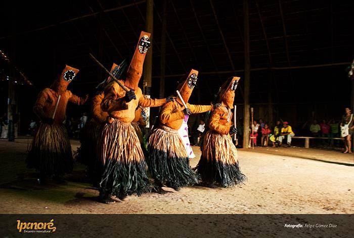 Baile del muñeco, baile típico del departamento del Vaupés.