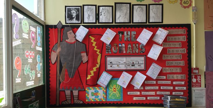 The Romans ks2 classroom display year 3