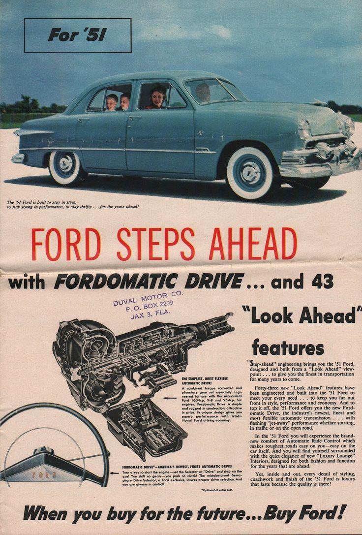 1951 ford sales brochure https plus google com johnpruittmotorcompanymurrayville