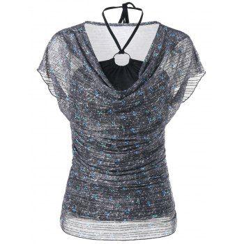 GET $50 NOW | Join Dresslily: Get YOUR $50 NOW!https://m.dresslily.com/sheer-ruched-voile-blouse-and-halter-bandeau-tank-top-product2052835.html?seid=U3Upl4jvv0S22fIInjln5r9h5C