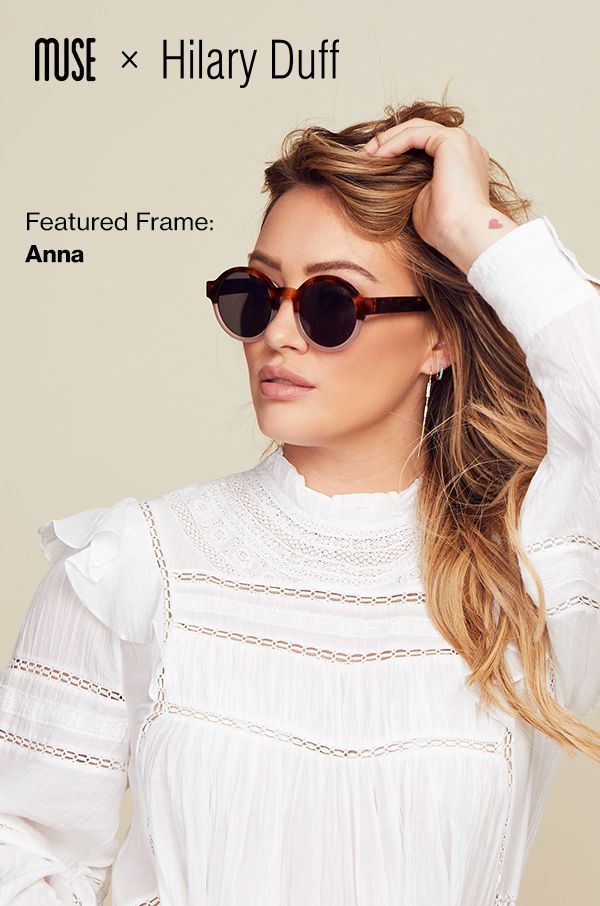53ff262879a7 Glasses-wearers  You have to see Hilary Duff s new collection. Find your  perfect pair exclusively online
