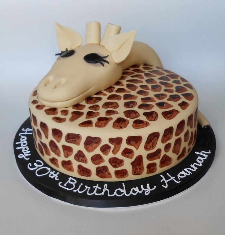 Giraffe cake by The Little Velvet Cake Company