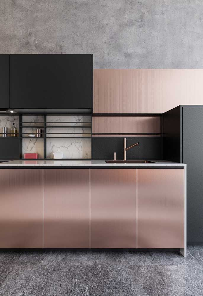 Idea By Kate On Rose Gold Everything Rose Gold Kitchen
