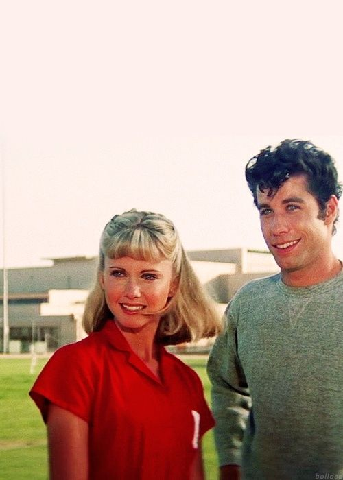 Image result for olivia newton john Sandy stranded at the drive in