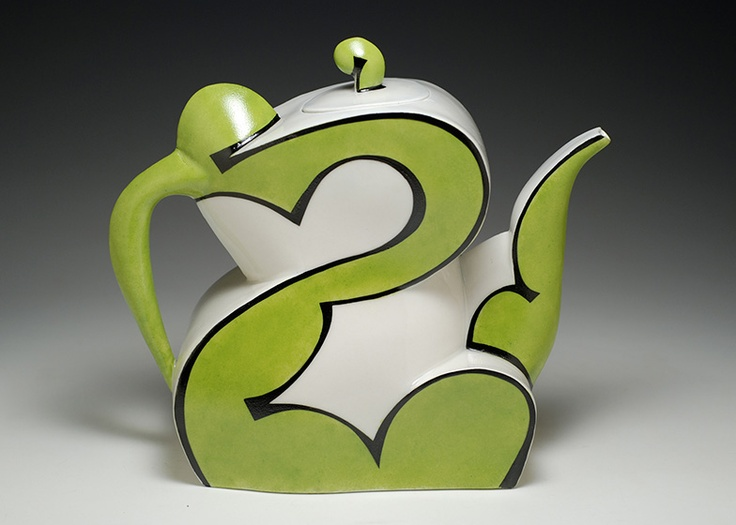 i love the use of the glaze to accent the shape.