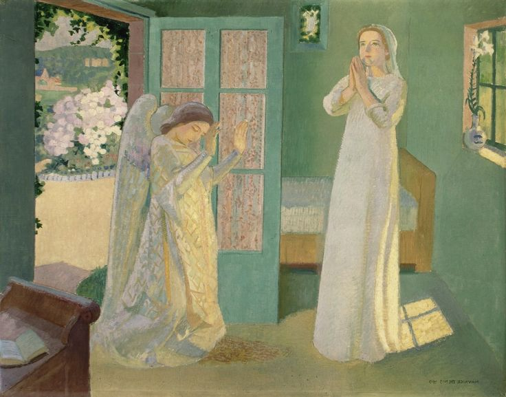 MAURICE DENIS, The Annunciation