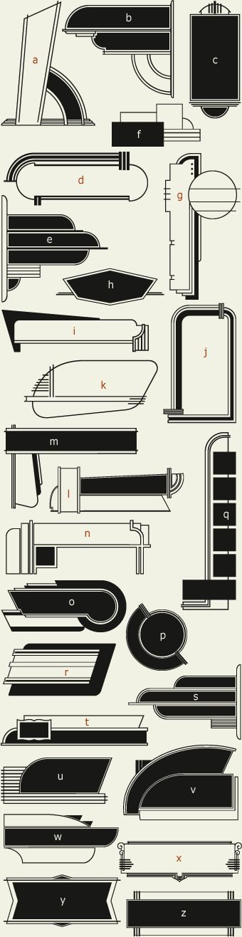 Letterhead Fonts / LHF 20 Six Panels