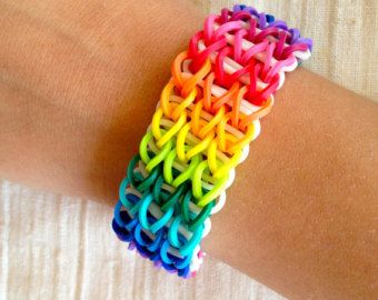 rainbow loom bracelet - Google Search