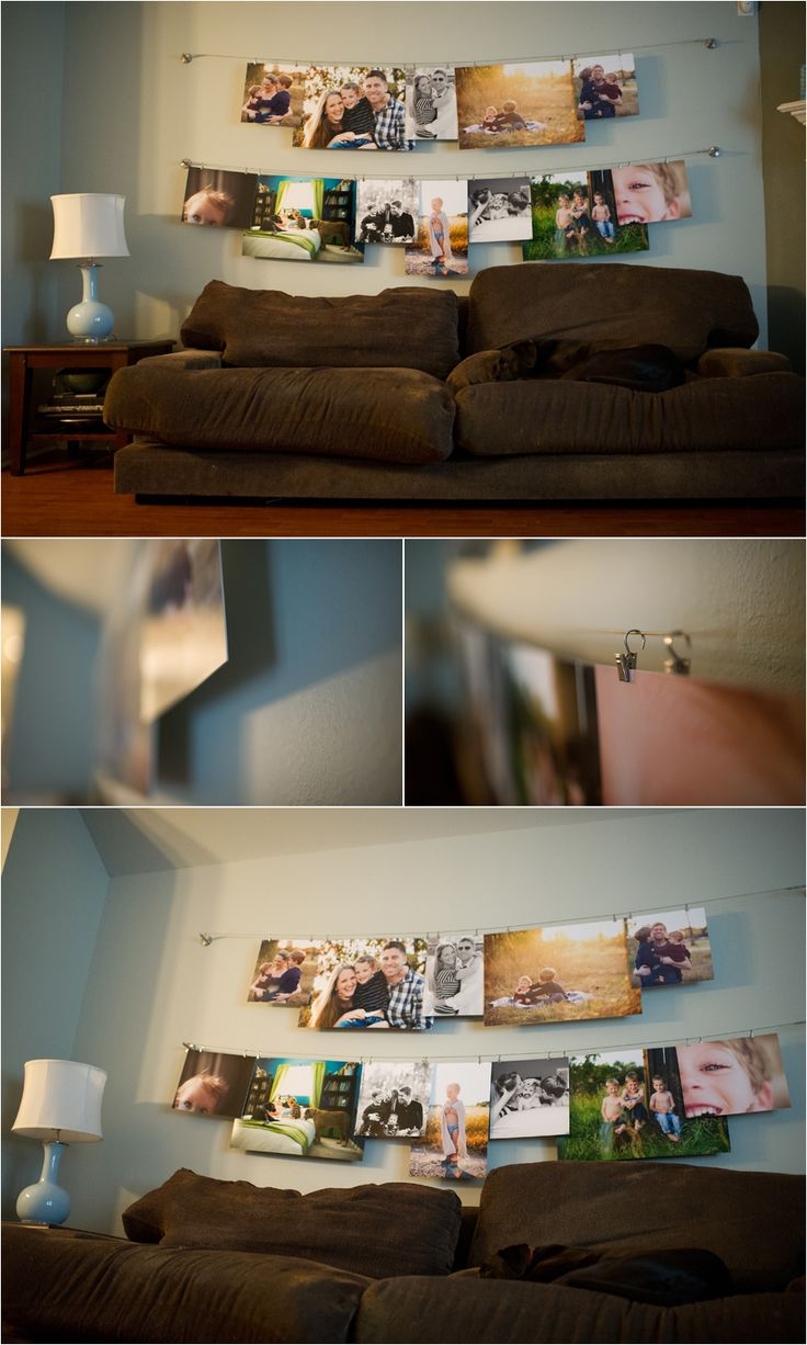 How to display photos in your home with several photo wall ideas