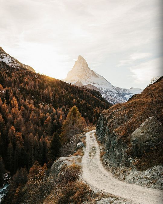 Stony Lane to the Matterhorn .... Uphill all the Way!