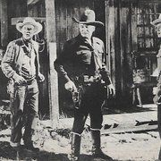 William Boyd, Rand Brooks, and Andy Clyde in The Devil's Playground (1946)