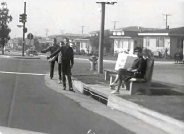 Hitchhiker's in the 60's in Inglewood