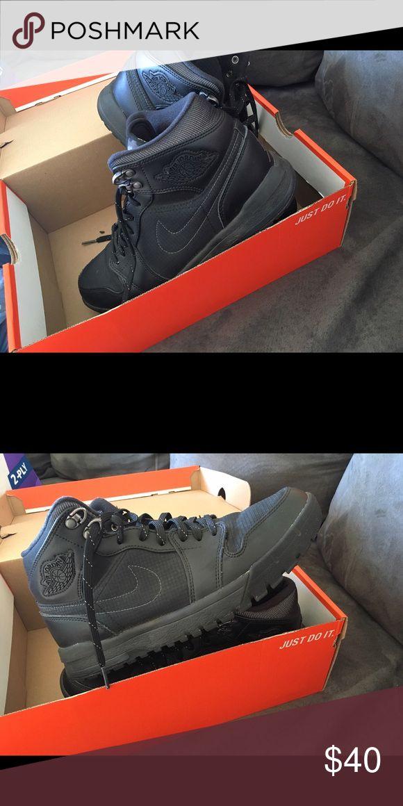 Men's Nike Jordan's Jordan Ones worn maybe once great condition Nike Shoes Sneakers