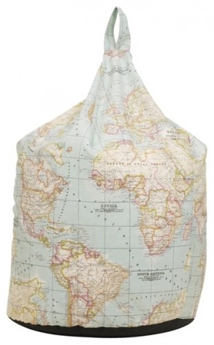map bean bag