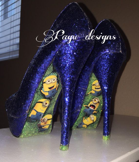 10 Best Minion Heels Images On Pinterest