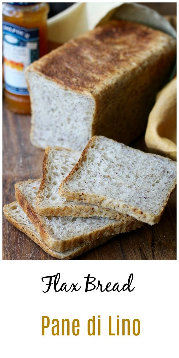 Ground Flaxseed Bread | Pane di Lino
