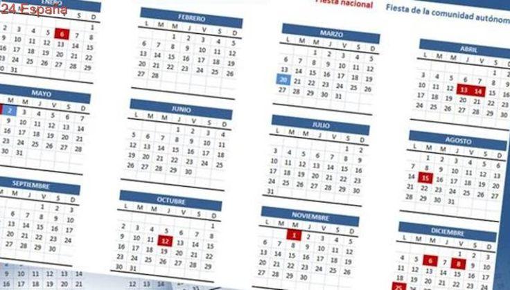 Calendario laboral de 2018 en la Comunidad de Madrid