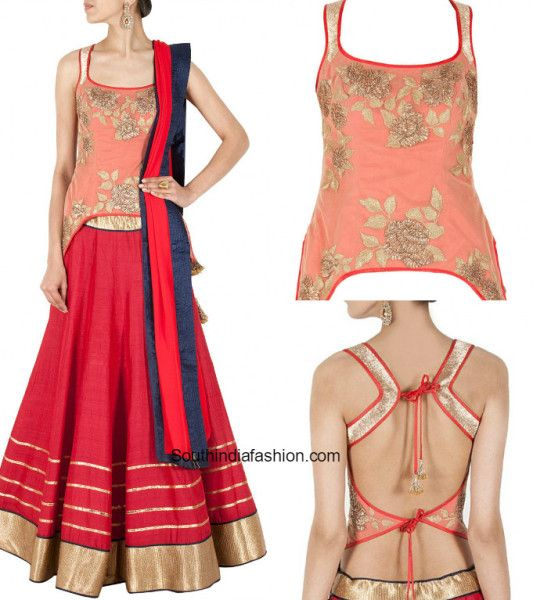 We all want those timeless classic blouses in our wardrobe that make us look stylish every time we wear them and corset blouses are one such. Corset blouses are today's hottest fashion trend and they definitely have a long way to go. A fitted corset blouse can effortlessly make any saree look glamorous and add a