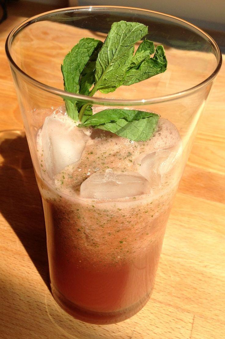 Verfrissende watermeloen cocktail