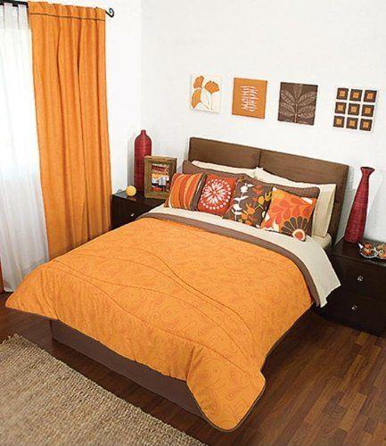 Bedroom Sets For Cheap Burnt Orange Bedroom Accessories Art Themed Bedroom Bedroom Sofa: 19 Best Images About Decorating With Orange On Pinterest
