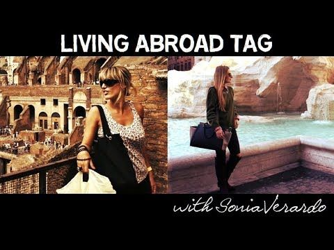 MichelaIsMyName: Living Abroad TAG w/ Sonia Verardo | MICHELA ismyn...