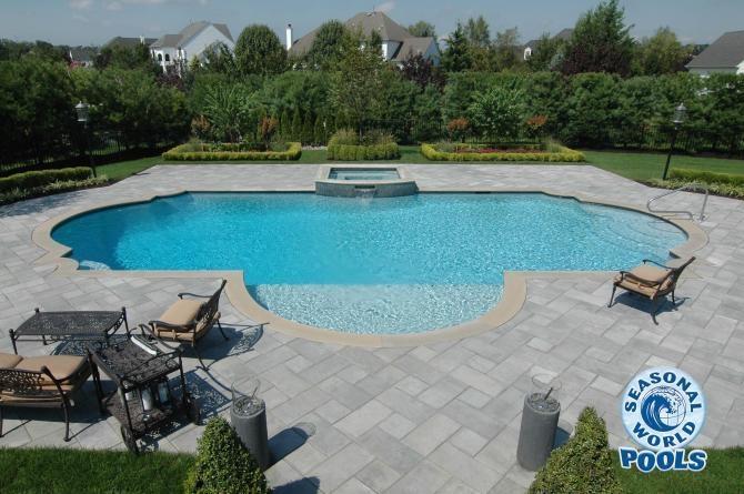 Best 25 Gunite Pool Ideas On Pinterest Pool Designs Swimming Pools Backyard And Pool Spa