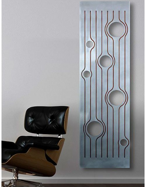 Let's talk radiators. While maybe not the most exciting home furnishing for some, they are practical for a large portion of people out there. We all know about the unsightly eyesores in older homes and apartments that people try to minimize with paint. Finally there is Hotech, an Italian company that's doing it right with modern radiators that also function as an artistic element for your home.    Also, you can have your radiator in your choice of many colors and finishes.