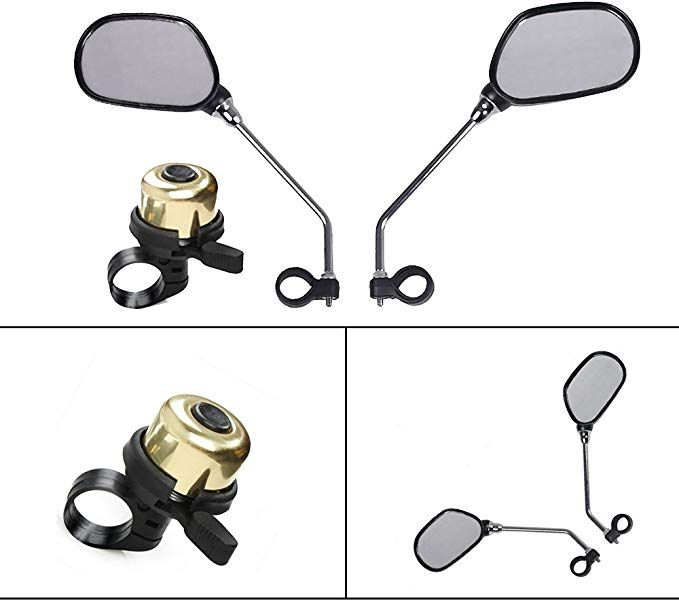 Mirror Big View Bike Rear View Mirror Blindsight Multi Angle Adjustable