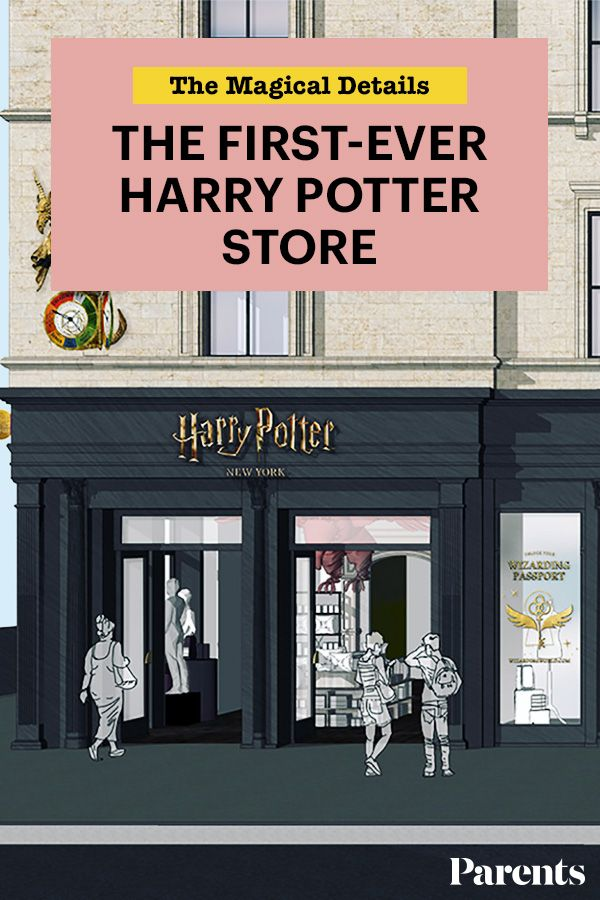 All The Magical Details Of The First Ever Harry Potter Store Opening In 2020 Harry Potter Store Family Fun Night Family Fun Games