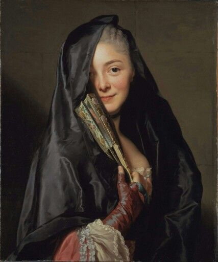 'The lady with the veil' Roslin