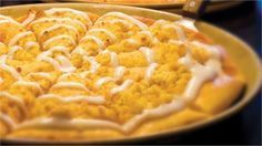 Pizza Ranch Cactus Bread/Dessert Pizza. MY FAVORITE THING EVER THERE. And their mashed potatoes.. I could go for pizza ranch right now......