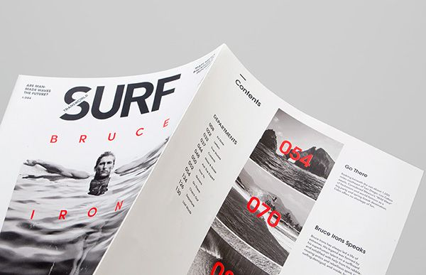Editorial design is the biggest source of reference for me anytime I look for inspiration. Designing products require much more than just beautiful compositions.