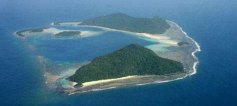 Pristine Bawah Islands in Anambas Archipelago, Indonesia