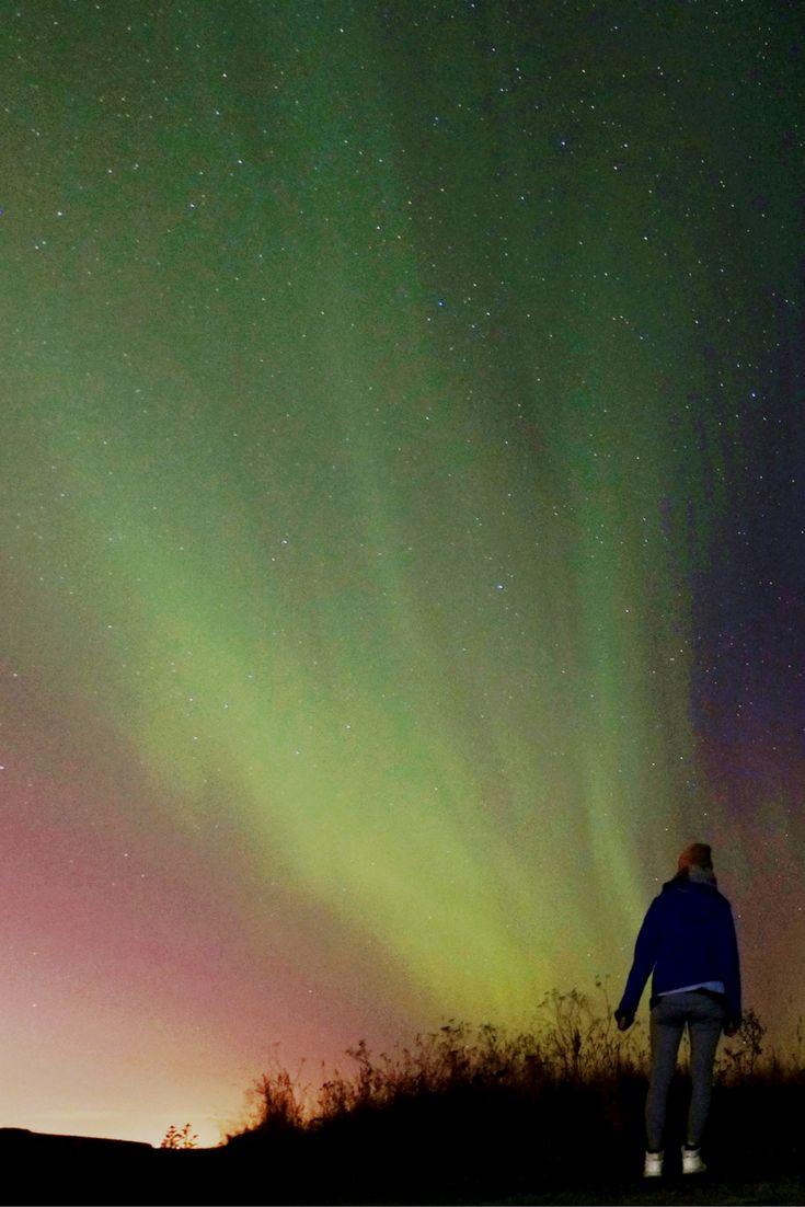 Northern Lights in Reykjavik, Iceland. Discover beautiful Aurora. | Worldering Around