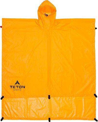 TETON Sports Tarp Poncho ** LEARN ADDITIONAL INFO @: http://www.best-outdoorgear.com/teton-sports-tarp-poncho/